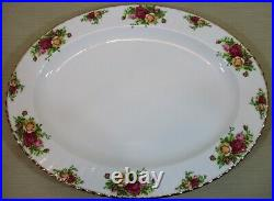 Royal Albert China Old Country Roses Large 16 Oval Turkey Serving Platter/Tray