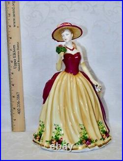 Royal Albert, Lady Figurine named Old Country Rose, Made by Royal Doulton