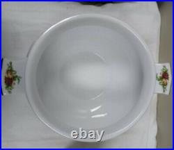 Royal Albert OLD COUNTRY ROSES Chowder Or Soup Tureen- PRISTINE 1962