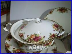 Royal Albert OLD COUNTRY ROSES Dinner Set