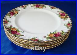 Royal Albert OLD COUNTRY ROSES Dinner and Tea Service PRISTINE CONDITON