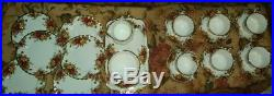 Royal Albert OLD COUNTRY ROSES TEA CUP AND SAUCER tea party and cake +more