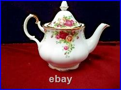 Royal Albert Old Country Rose 3 Piece Tea Set