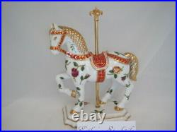 Royal Albert Old Country Rose Carousel Horse Figurine