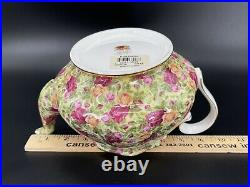 Royal Albert Old Country Rose Collection Chintz Large Teapot Bone China England