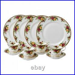 Royal Albert Old Country Roses 12Pc Dinnerware Set