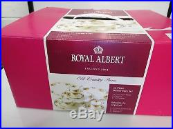 Royal Albert Old Country Roses 12 piece set. New Still in Box & plastic