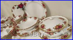 Royal Albert'Old Country Roses' 12 x Place Dinner Service 1st Quality