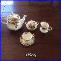 Royal Albert Old Country Roses 15 Pc Unused Made in England