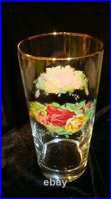 Royal Albert Old Country Roses 16 oz 6 1/4 Tumblers Set of 12