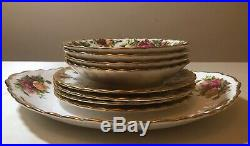 Royal Albert Old Country Roses 18pc Tea Set. 1962 1st Quality