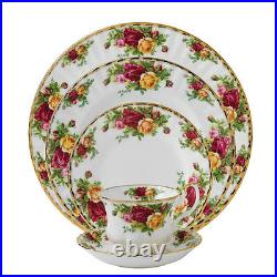 Royal Albert Old Country Roses 20Pc Set, Service for 4