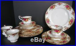 Royal Albert Old Country Roses 20 Pc Serv/4 Dinnerware Set