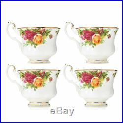 Royal Albert Old Country Roses 20-Piece 22K Gold Accented Bone China Set