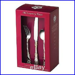 Royal Albert Old Country Roses 20-Piece Flatware Set BRAND NEW IN BOX