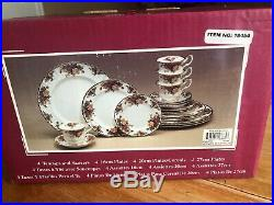 Royal Albert -Old Country Roses -20 Piece Place Setting for 4 Made in England