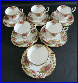 Royal Albert Old Country Roses 20 Piece Tea Set Vgc