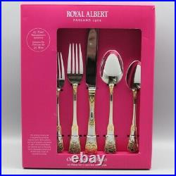 Royal Albert Old Country Roses 20pc. Flatware Set (Service for Four)