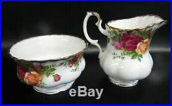 Royal Albert Old Country Roses 21 Piece Tea Set, Vgc, 1st Quality, 1962/73