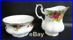 Royal Albert Old Country Roses 22 Piece Tea Set Including Tea Pot 1962-1973