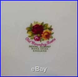 Royal Albert Old Country Roses 22pc Tea Set All First Quality and VGC