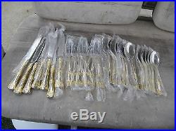 Royal Albert Old Country Roses 28 Piece 18/10 Stainless Steel Flatware Set NEW