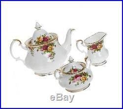 Royal Albert Old Country Roses 3-Piece Tea Set
