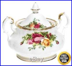 Royal Albert Old Country Roses 3-Piece Tea Set New