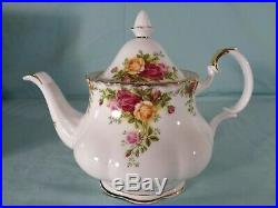 Royal Albert Old Country Roses 3 pc. Tea Set New in Box