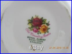 Royal Albert Old Country Roses 40 Piece Tea Set Early Mark