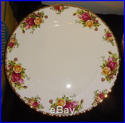 Royal Albert Old Country Roses 41 Pc Service For Eight New Old Stock Mint Cond