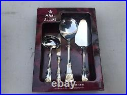 Royal Albert Old Country Roses 45 Piece Stainless Steel Serving Set! New