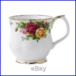 Royal Albert Old Country Roses 4 Bone China Mugs Coffee