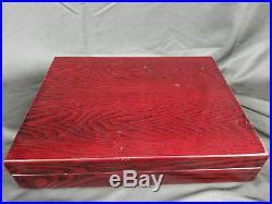 Royal Albert Old Country Roses -57Pc Flatware Silverware & Serveware Set for 8