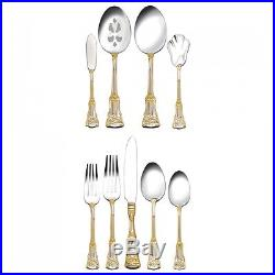 Royal Albert Old Country Roses 65 Piece Flatware Set Cutlery Service for 12 New