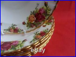Royal Albert Old Country Roses, 6 x 8 Rimmed Bowls