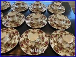 Royal Albert Old Country Roses 75 Piece 15 Place Setting Bone China