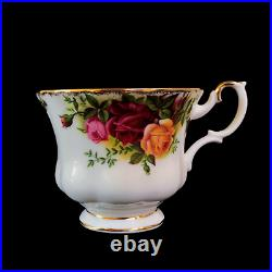 Royal Albert Old Country Roses 7 Piece Tea For Two Tea Set