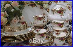 Royal Albert Old Country Roses 8 place setting + extras