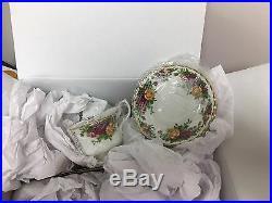 Royal Albert Old Country Roses 9 Pcs Bone China Tea Completer Set Brand New $220