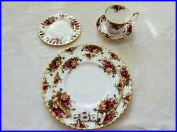 Royal Albert Old Country Roses Bone China, Service For 12, Perfect Condition
