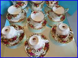 Royal Albert Old Country Roses Bone China Tea Set See Decription/Pictures
