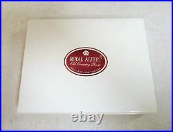 Royal Albert Old Country Roses Boxed Set of 6 Cake Forks + Cake Slice