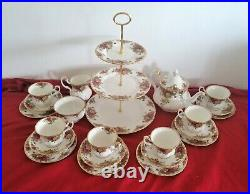 Royal Albert Old Country Roses Breakfast, Dinner and Tea ware