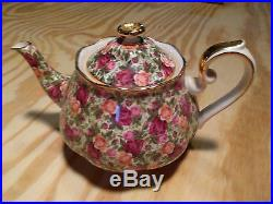 Royal Albert Old Country Roses CHINTZ Collection Teapot