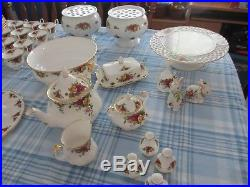 Royal Albert Old Country Roses China. (Cups, Plates, Bowls, Tea, Butter, etc.)