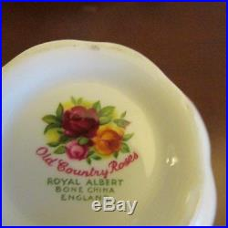 Royal Albert'Old Country Roses' Coffee Service for 12 1st Quality