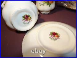 Royal Albert Old Country Roses, Coffee Set Including Pot