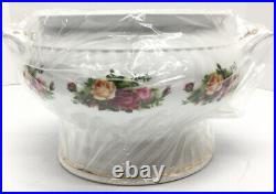 Royal Albert Old Country Roses Covered SOUP Tureen, NEW, No Box
