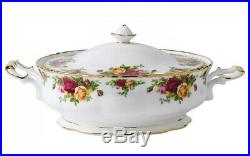 Royal Albert Old Country Roses Covered Veg Dish/Tureen Made in England